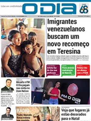 Jornal O Dia - Imigrantes venezuelanos buscam um novo recomeço em Teresina