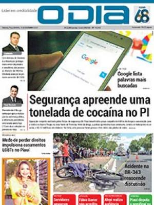 Jornal O Dia - Segurança apreende uma  tonelada de cocaína no PI