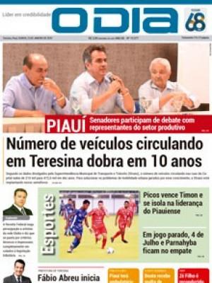 Jornal O Dia - Número de veículos circulando em Teresina dobra em 10 anos