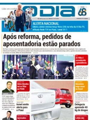 Jornal O Dia - Após reforma, pedidos de  aposentadoria estão parados