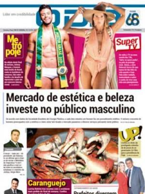 Jornal O Dia - Mercado de estética e beleza investe no público masculino