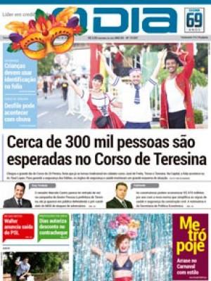 Jornal O Dia - Cerca de 300 mil pessoas são esperadas no Corso de Teresina