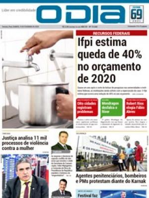 Jornal O Dia - Ifpi estima queda de 40% no orçamento de 2020