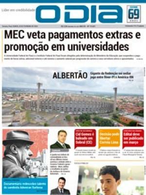 Jornal O Dia - MEC veta pagamentos extras e promoção em universidades