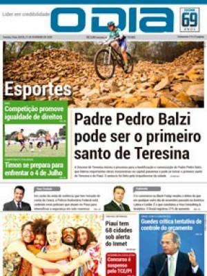 Jornal O Dia - Padre Pedro Balzi pode ser o primeiro santo de Teresina