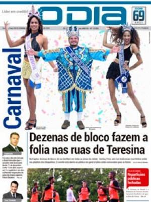 Jornal O Dia - Dezenas de bloco fazem a folia nas ruas de Teresina