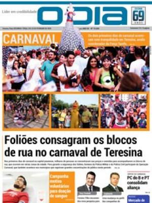 Jornal O Dia - Foliões consagram os blocos de rua no carnaval de Teresina