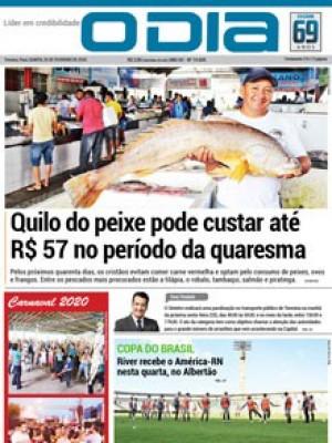 Jornal O Dia - Quilo do peixe pode custar até R$ 57 no período da quaresma