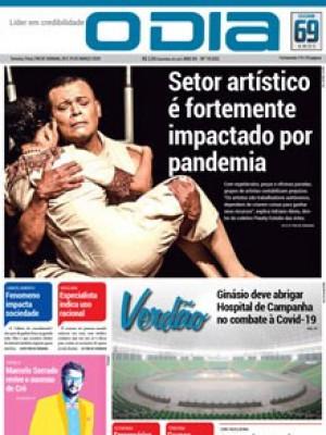 Jornal O Dia - Setor artístico é fortemente impactado por pandemia
