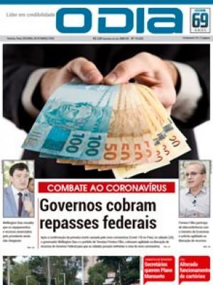 Jornal O Dia - Governos cobram repasses federais aaaaaaaaaa