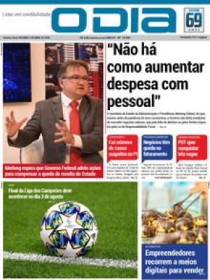 """Jornal O Dia - """"Não há como aumentar despesa com pessoal"""""""