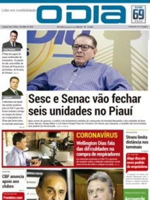 Jornal O Dia - Sesc e Senac vão fechar seis unidades no Piauí