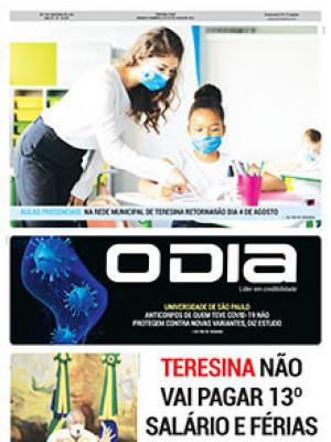 Jornal O Dia - Teresina não vai pagar 13º salário e férias a professores