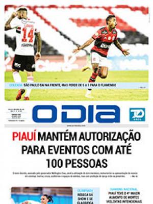 Jornal O Dia - Piauí mantém autorização para eventos com até 100 pessoas