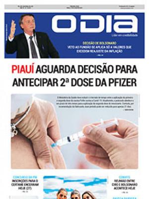 Jornal O Dia - Piauí aguarda decisão para antecipar 2ª dose da pfizer