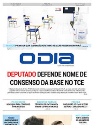 Jornal O Dia - Deputado defende nome de consenso da base no TCE