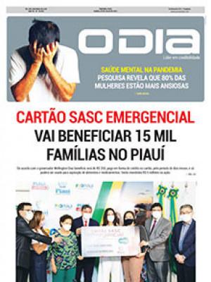 Jornal O Dia - Cartão Sasc Emergencial VAI BENEFICIAR 15 MIL Famílias NO PIAUÍ