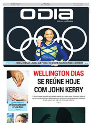 Jornal O Dia - Wellington Dias se reúne hoje com John Kerry