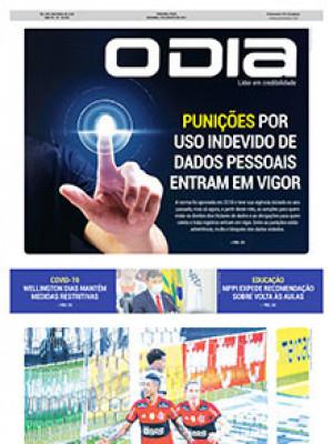 Jornal O Dia - Punições por uso indevido de dados pessoais entram em vigor