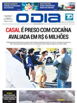 Jornal O Dia - Casal é preso com cocaína avaliada em R$ 6 milhões