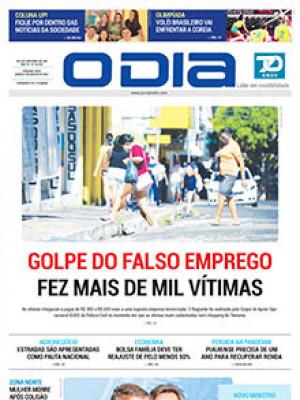 Jornal O Dia - Golpe do falso emprego fez mais de mil vítimas