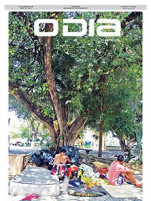 Jornal O Dia - Cresce número de pessoas em situação de rua em Teresina