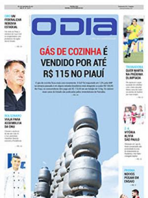 Jornal O Dia - Gás de cozinha é vendido por até  R$ 115 no Piauí