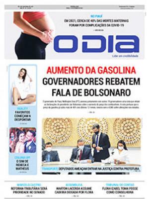 Jornal O Dia - Aumento da gasolina Governadores rebatem fala de Bolsonaro