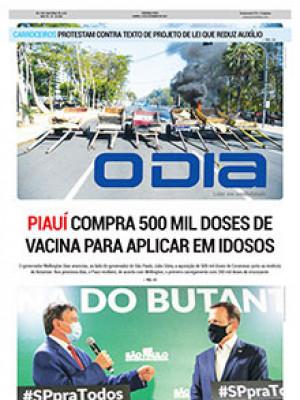 Jornal O Dia - Piauí compra 500 mil doses de vacina para aplicar em idosos