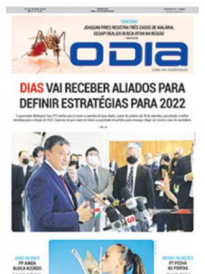 Jornal O Dia - Dias vai receber aliados para definir estratégias para 2022