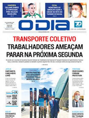 Jornal O Dia - Transporte coletivo trabalhadores ameaçam parar na próxima segunda