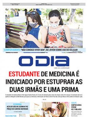 Jornal O Dia - Estudante de medicina é indiciado por estuprar as duas irmãs e uma prima