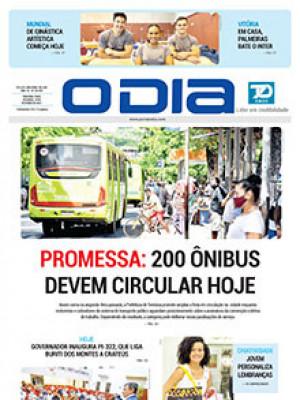 Jornal O Dia - PROMESSA: 200 ÔNIBUS DEVEM CIRCULAR HOJE