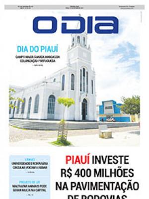 Jornal O Dia - Piauí investe R$ 400 milhões na pavimentação de rodovias