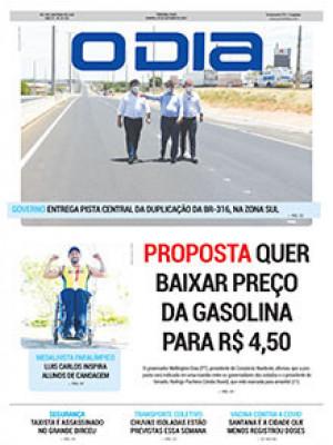 Jornal O Dia - Proposta quer baixar preço da gasolina para R$ 4,50