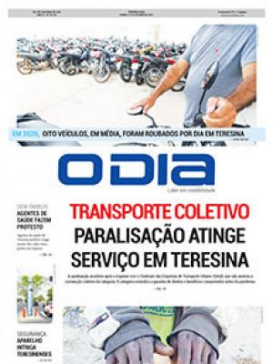 Jornal O Dia - Transporte coletivo paralisação atinge serviço em Teresina