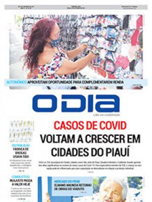 Jornal O Dia - CASOS DE COVID VOLTAM A CRESCER EM CIDADE DO PIAUÍ