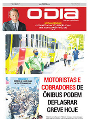 Jornal O Dia - Motoristas e cobradores de ônibus podem deflagrar greve hoje