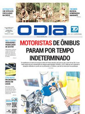 Jornal O Dia - Motoristas de ônibus param por tempo indeterminado