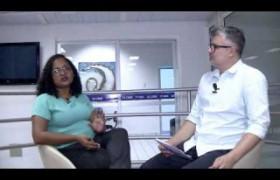 Dia News entrevista a professora Lana Almeida que avaliou as redações da concurso Jovens Escritore