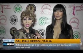 Safira Bengell faz performance em concurso internacional