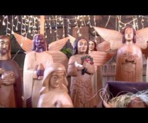 TV O Dia - Presépio de madeira é opção para natal regionalista