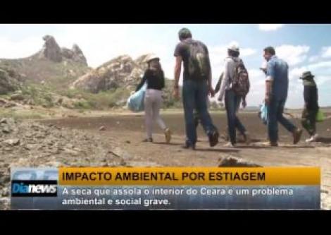 Açude mais antigo do Brasil vira 'cemitério de cágados'