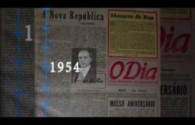 O Dia 66 anos de história - Década de 50