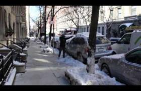 Zanzando em Nova York - Neve