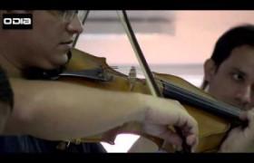 Orquestra Jovem do projeto Música Para Todos homenageia jornalistas dO Dia
