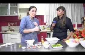 Sugestão de salada com bacalhau para a páscoa