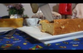 Sabor do Dia: Delicioso bolo de macaxeira