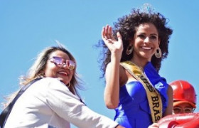 A chegada da Miss Brasil Monalysa Alcântara no Piauí