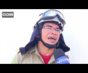 TV O Dia - Fumaça tóxica do incêndio em distribuidora assusta vizinhança